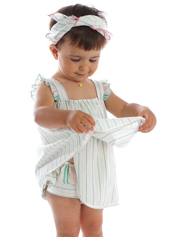 Mia Bu Milano - Baby Girl Green